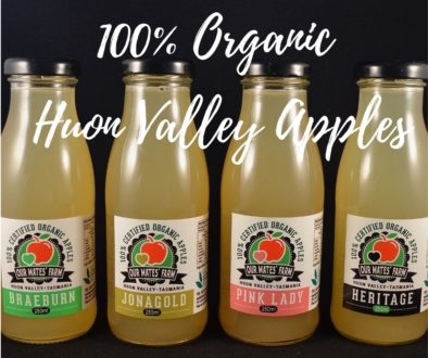 100% Organic Huon Valley Apples